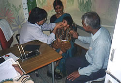 Gwalior Hospital for Children and Women in Nov. 2003