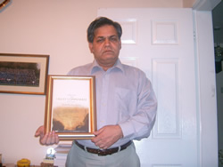 Dr. Sharma, founder of these charities honoured with Beacon prize 2003 award